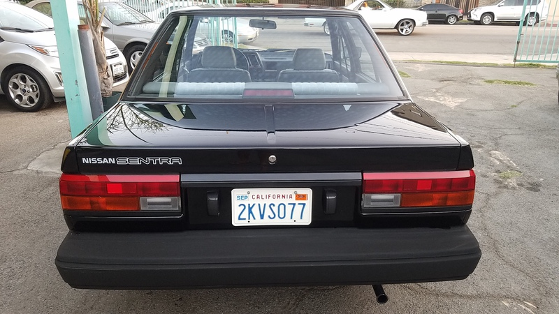 Used Cars 1988 Nissan Sentra E