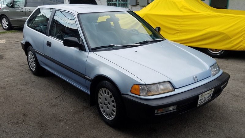 1990 honda civic sedan custom